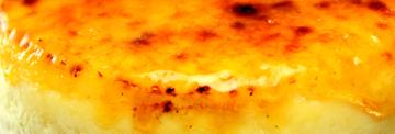 チーズケーキ表面